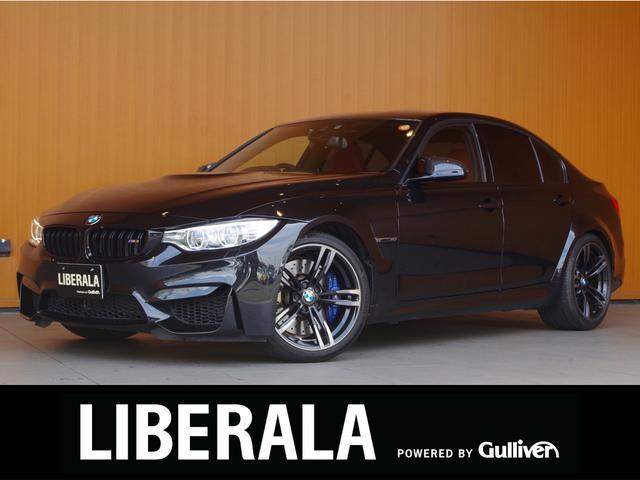 BMW M3 衝突軽減B レーンアシスト 赤革シート パーキングサポートPKG トップビュー 純正ナビ Bカメラ シートヒーター ヘッドアップディスプレイ 純正19インチアルミ LEDライト ETC パドルシフト