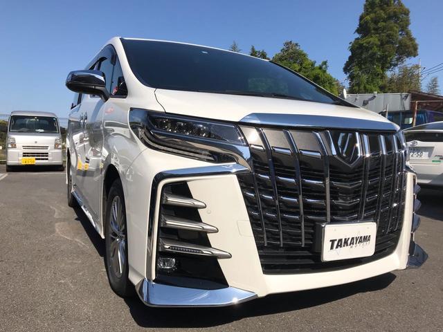 トヨタ 3.5エグゼクティブラウンジS エアロ 4WD ETC2.0