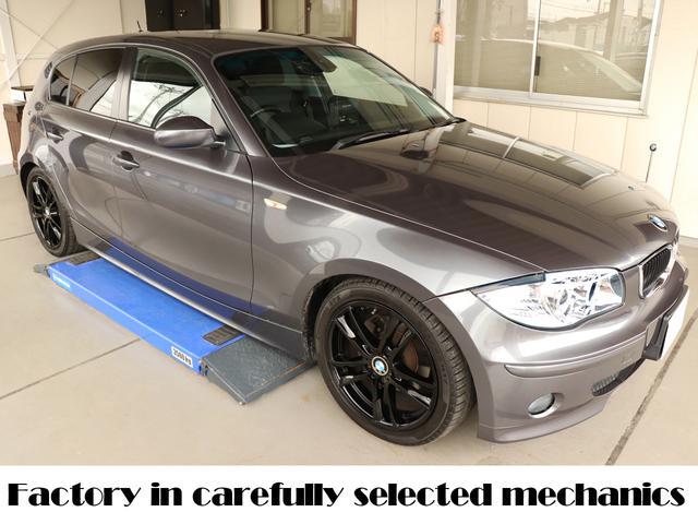 BMW ディーラー下取り車 ガレージ保管車両 1年点検整備保障