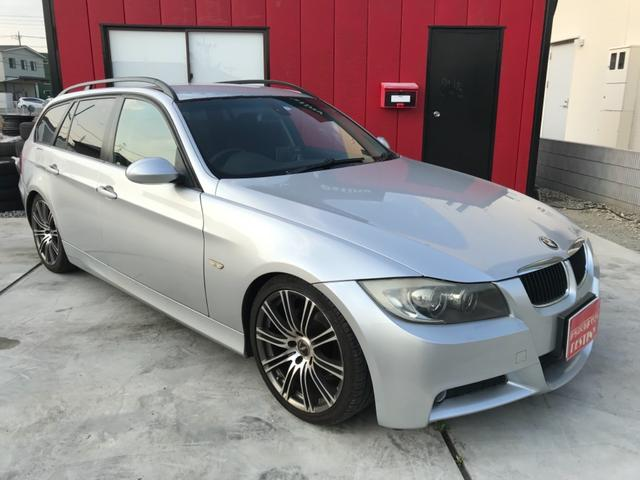 BMW 320iツーリング 社外19アルミ 社外HDDナビ ETC