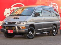 デリカスペースギアロング Sエクシード クリスタルライトルーフ 新品AWタイヤ