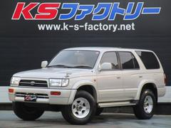 ハイラックスサーフSSR−X 4WD 5速MT 背面レス 社外16インチAW