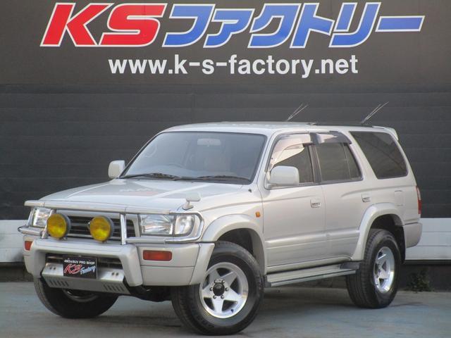 トヨタ SSR-X 希少ディーゼル5速MT 純正グリルガード