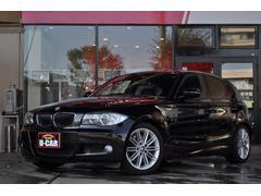 BMW130iMスポーツHDDナビ 黒革H21−H29 記録簿あり