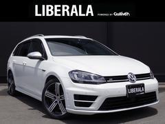 VW ゴルフRヴァリアント1オーナー  Discover Pro 黒レザーシート