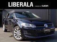 VW ゴルフヴァリアントTSIハイラインブルーモーションテクノロジー 1オナ ACC