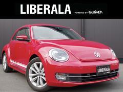 VW ザ・ビートルデザインレザーパッケージ 純正ナビ 黒革
