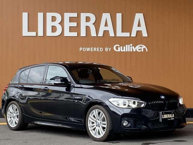 BMW 1シリーズ 118i Mスポーツ 純正HDDナビ・Bカメラ・LEDヘッド・ETC・コンフォートアクセス・Rコーナーセンサー・レーンアシスト
