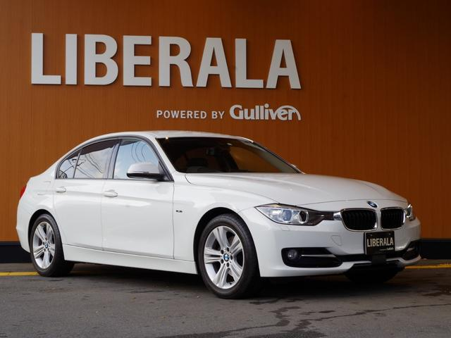 BMW 320d スポーツ ACC・衝突軽減B・コンフォートアクセス・インテリジェントセーフティ・レザーシート・シートヒーター・純正HDDナビ・パドルシフト・ACC・ETC