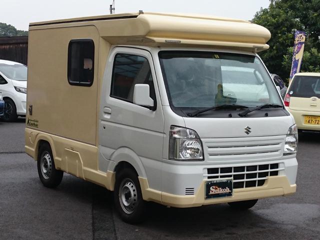 スズキ CampMaster キャンピング車 4WD AC PS