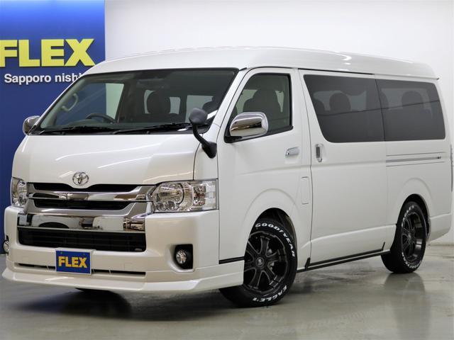 トヨタ FLEXオリジナル内装架装Ver2 ナビ フリップダウン