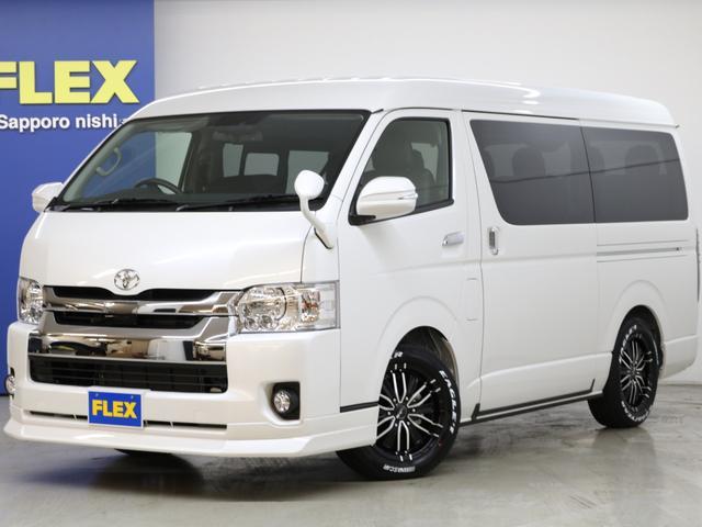 トヨタ FLEX内装架装Ver1 ナビ フリップダウンモニター