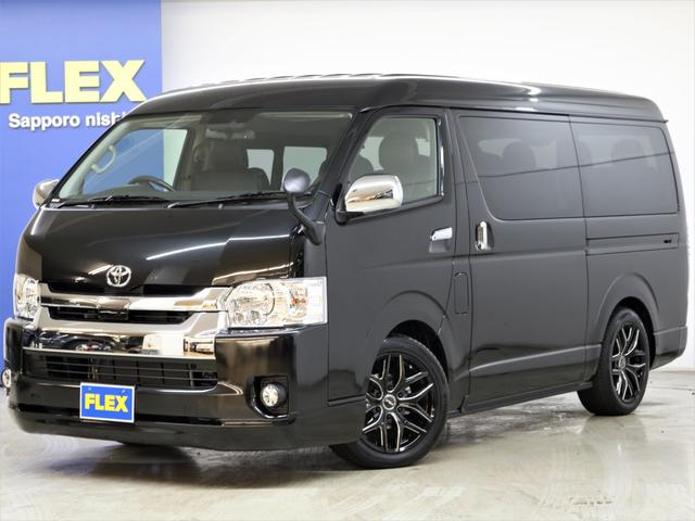 トヨタ FLEX Ver2内装架装 ナビ フリップダウンモニター