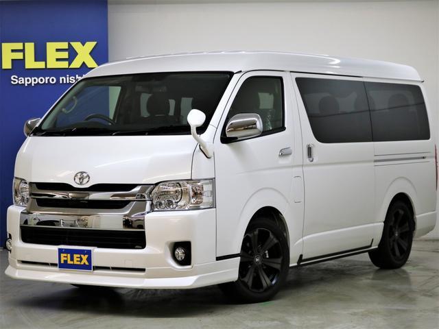 トヨタ FLEXアレンジR1内装架装 ナビ フリップダウンモニター