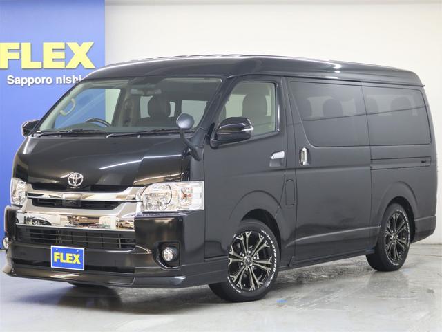 トヨタ FLEX R1内装架装 ナビ ETC フリップダウンモニター