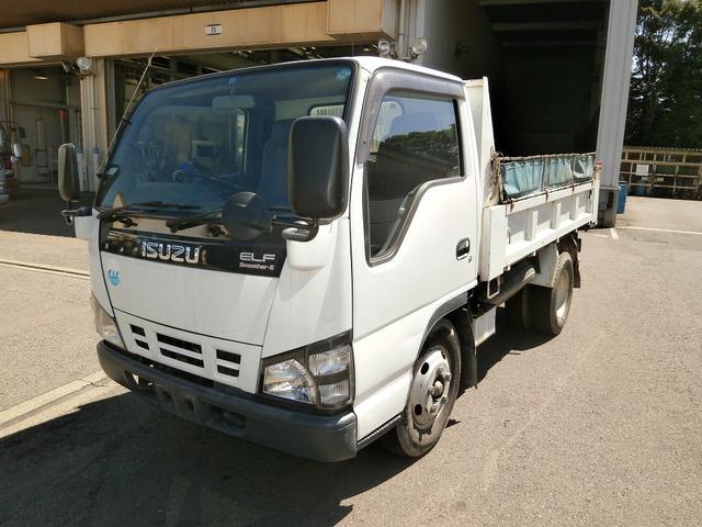 いすゞ エルフトラック 3t ダンプ 高床