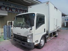 エルフトラック3.5t超ワイドロング 保冷バン サイドドア 高床 ETC