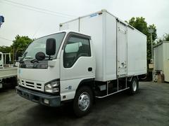 エルフトラック3.5t超ワイドロング 保冷バン 3枚扉 サイドドア 高床