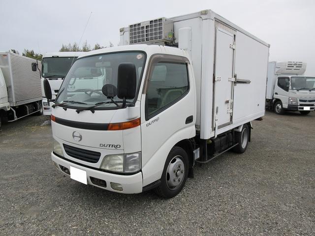 日野 2t標準セミロング 冷蔵冷凍車 低温 サイドドア 低床