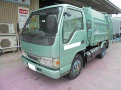 アトラストラック2t パッカー車 プレス式 4.1立米 低騒音型 CNG