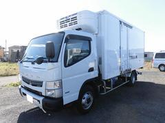 キャンター3tワイドロング 冷蔵冷凍車(低温) 格納ゲート サイドドア