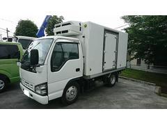 エルフトラック2t標準ショート 冷蔵冷凍車(低温)サイドドア 全低床