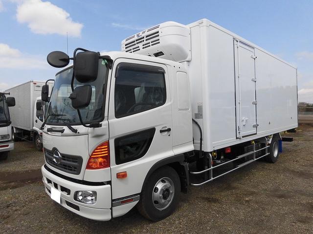 日野 4t標準 冷蔵冷凍車 低温 サイドドア ベッド付 エアサス