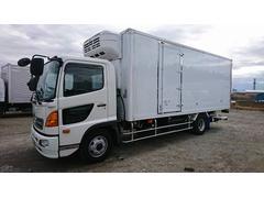 ヒノレンジャー4t標準 冷蔵冷凍車 低温 格納パワーゲート リアエアサス