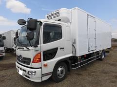 ヒノレンジャー4t標準 冷蔵冷凍車(低温)サイドドア ベッド付 エアサス