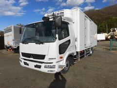 ファイター4tワイド 冷蔵冷凍車(低温)格納パワーゲート リアエアサス