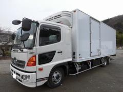 ヒノレンジャー4tワイド 冷蔵冷凍車(低温)格納パワーゲート リアエアサス