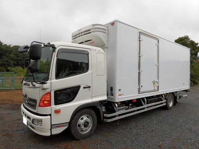 日野 4t標準 冷蔵冷凍車 低温 格納パワーゲート エアサス