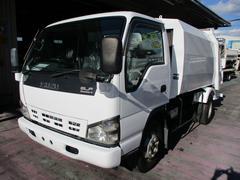 エルフトラック2.6t パッカー車(プレス式)6立米 高床