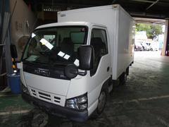 エルフトラック2t標準ショート 保冷バン 全低床  ETC Bカメラ
