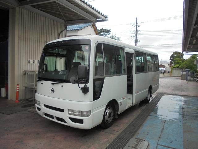 日産 マイクロバス 乗車定員29人 自動ドア  バックカメラ