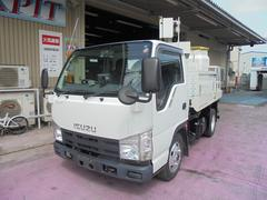 エルフトラック8m 高所作業車 アイチ製 バケットFRP 4WD