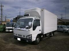 エルフトラック2tワイドロング 冷蔵冷凍車 中温 ジョロダー4列 高床