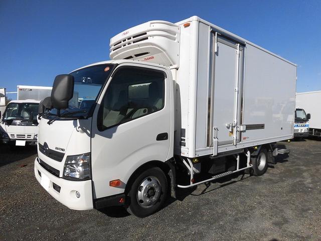 日野 3tワイドロング 冷蔵冷凍車 低温 格納パワーゲート