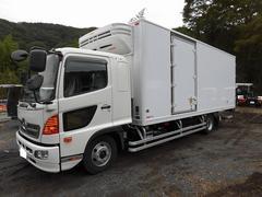 レンジャー4tワイド 冷蔵冷凍車(低温)格納ゲート ベッド付 エアサス