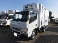 キャンター2t標準ショート 冷蔵冷凍車(低温) サイドドア 全低床