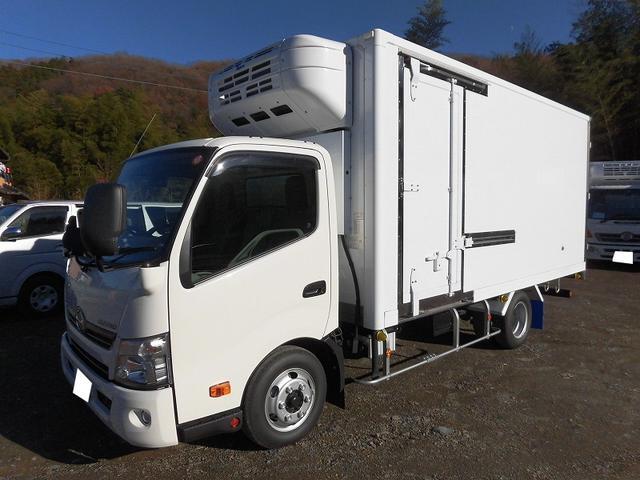 日野 3tワイドロング 冷蔵冷凍車 低温 サイドドア 全低床