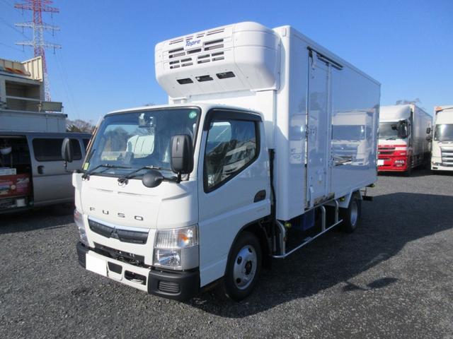 三菱ふそう  2t標準ロング 冷蔵冷凍車(低温) サイドドア 全低床