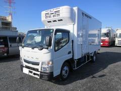 キャンター 2t標準ロング 冷蔵冷凍車(低温) サイドドア 全低床