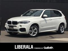 BMW X5xDrive 35d ディーゼルターボ 7人乗 ACC 黒革