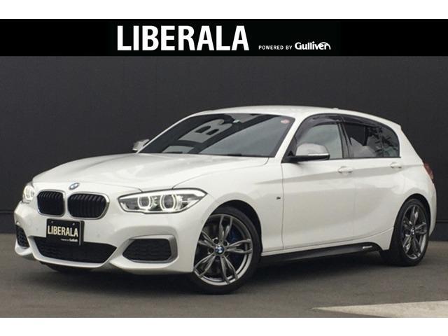 BMW 1シリーズ M140i 純ナビ Bカメラ LEDヘッド Mパフォパーツ有