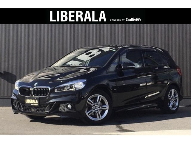 BMW 2シリーズ 218dアクティブツアラー Mスポーツ ACC コンフォートPKG インテリジェントSFT LDW 純正HDDナビ 社外フルセグTV PDC Bカメラ リアセンサー LED 純正アルミ オートマチックテール ミラー型ETC