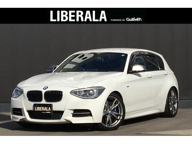 BMW 1シリーズ M135i 純正HDDナビ バックカメラ 黒革シート(シートヒーター・パワーシート・運転席メモリ機能付き) コンフォートアクセス H&Rサス HID ミラー一体型ETC リアPDC 社外ドラレコ