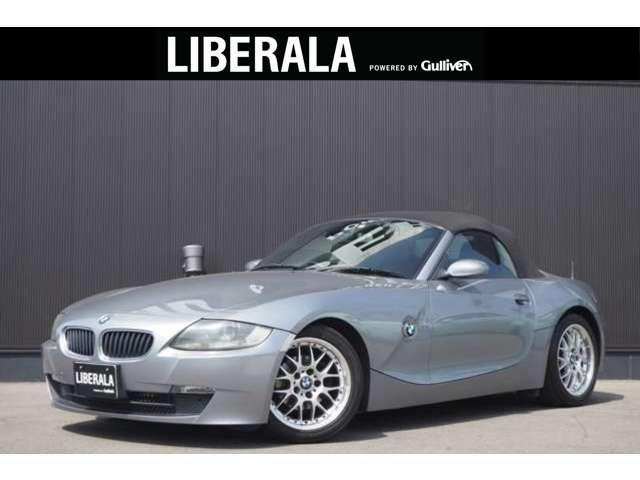 BMW ロードスター2.5i 黒幌 電動オープン 社外17incAW 黒革 社外DVDナビ リモコンキー ETC HID 純正オーディオ シートヒーター