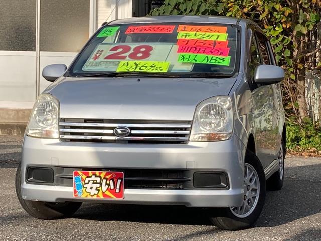 ダイハツ ミラアヴィ RS 5MTーTB キーレスキーレス HID ABS モモウッドコンビハンドル