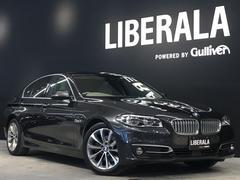 BMW523d モダン オイスターレザー ACC LKA シートH